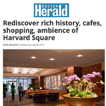 Rediscover rich history, cafes, shopping, ambience of Harvard Square
