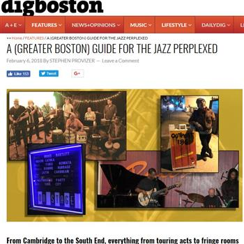 A (GREATER BOSTON) GUIDE FOR THE JAZZ PERPLEXED