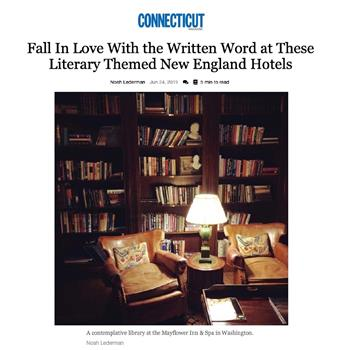 Fall In Love With the Written Word at These Literary Themed New England Hotels